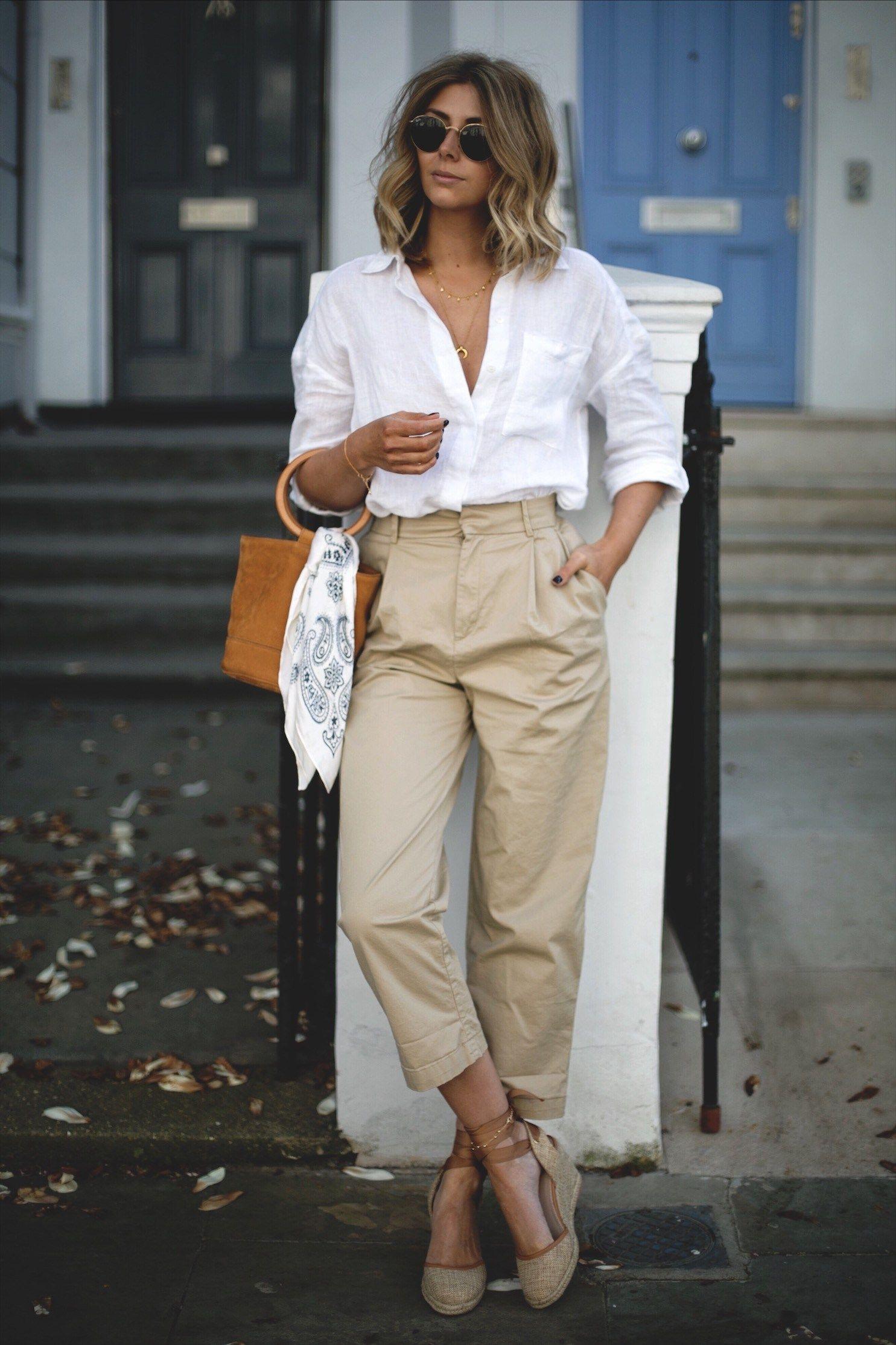 áo sơ mi trắng dáng cơ bản