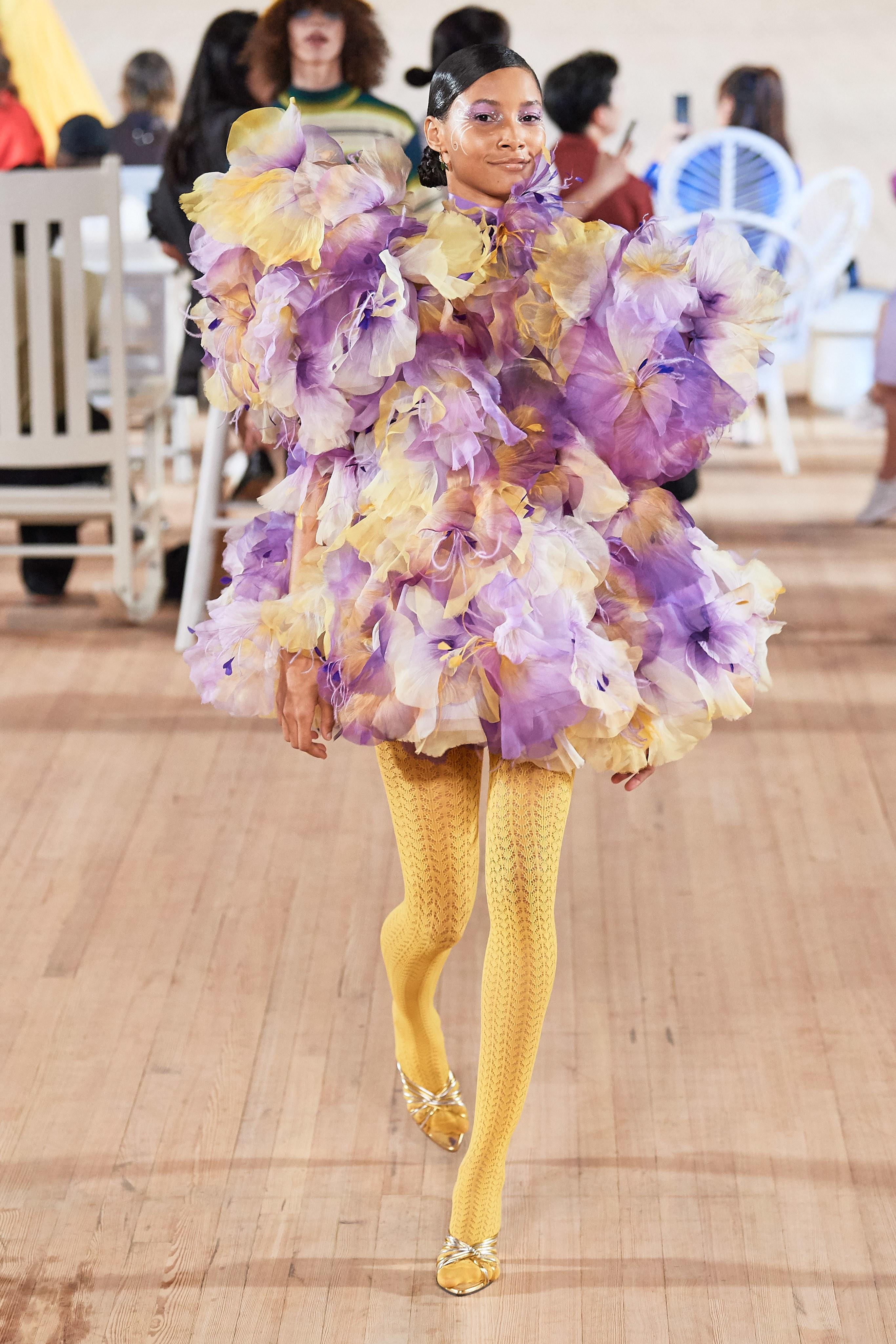 váy hoa marc jacobs xuân hè 2020