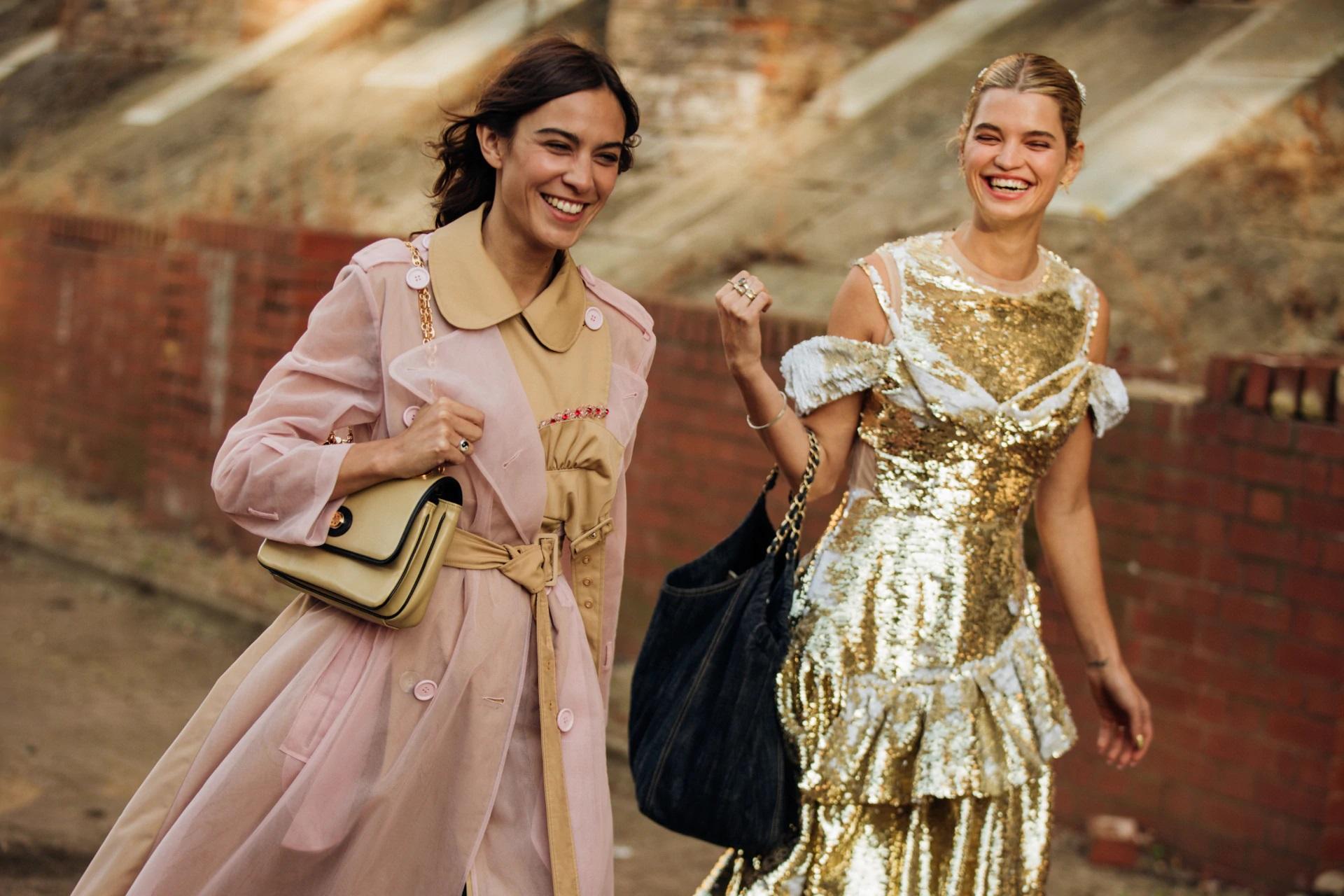 Street style tại Tuần lễ thời trang London Xuân - Hè 2020.