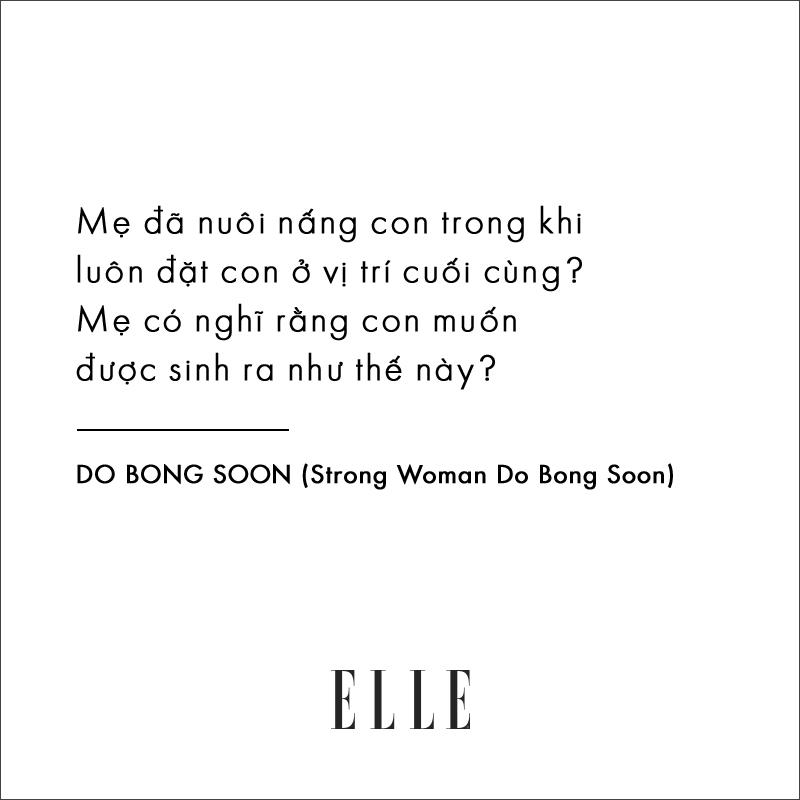 câu nói hay trong phim Strong Woman Do Bong Soon
