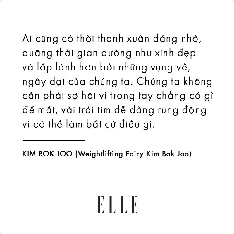 câu nói hay trong phim Fairy Kim Bok Joo