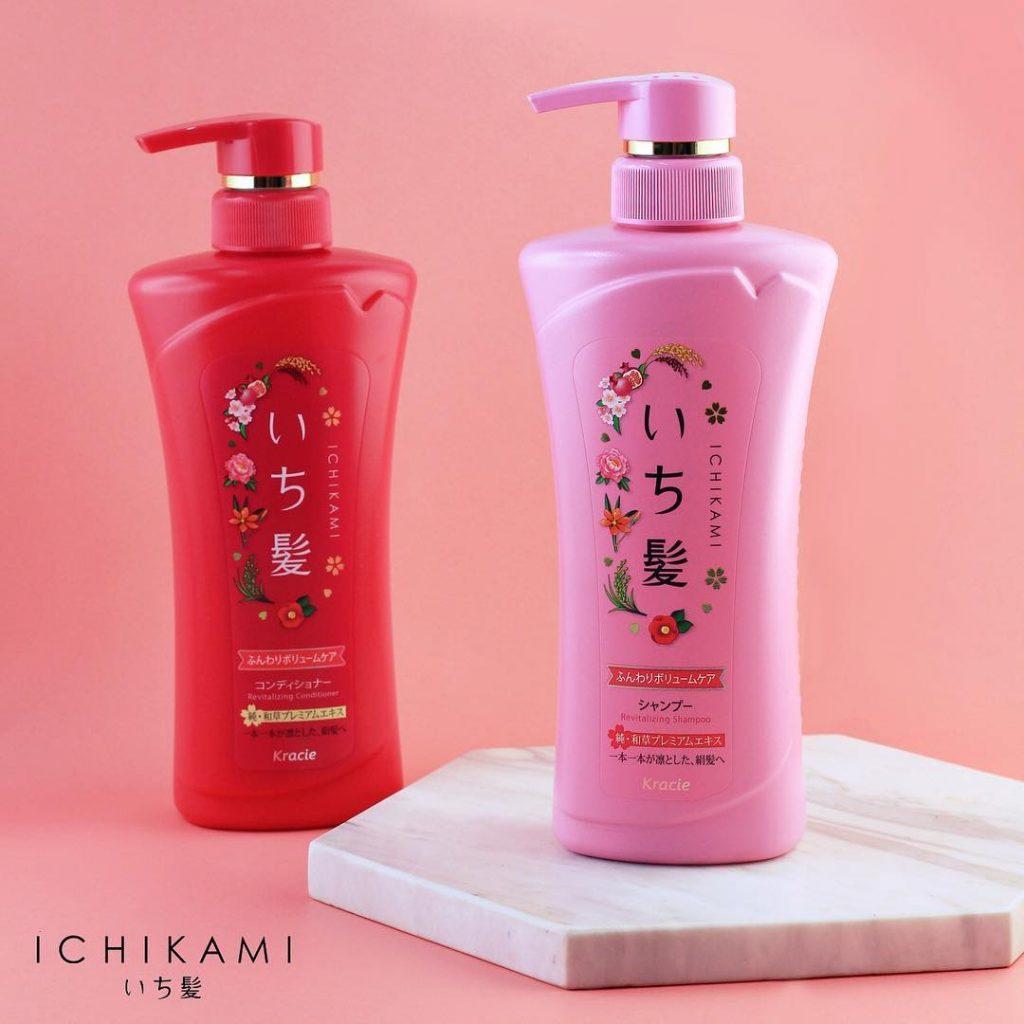 chăm sóc tóc bằng dầu gội Kraice Ichikami