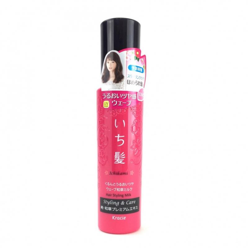 chăm sóc tóc bằng xịt dưỡng Kracie Ichikami