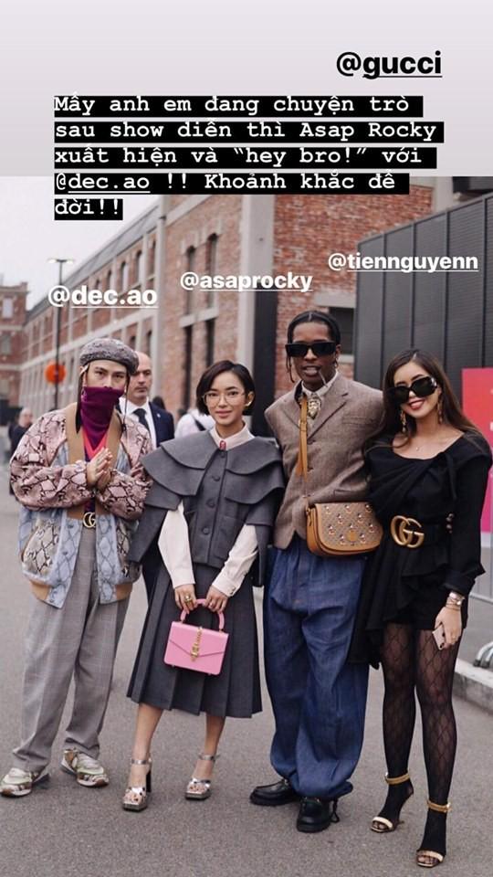 Châu Bùi, Decao, Tiên Nguyễn xuất hiện tại show Gucci trong tuần lễ thời trang Milan xuân - hè 2020