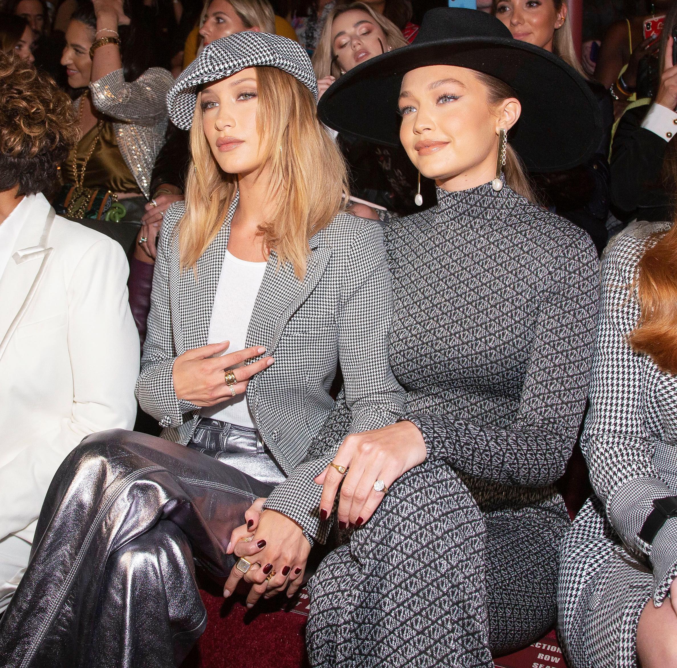 Chị em nhà Hadid xuất hiện ở hàng ghế đầu show Tommy Hilfiger tuần lễ thời trang NY ss20
