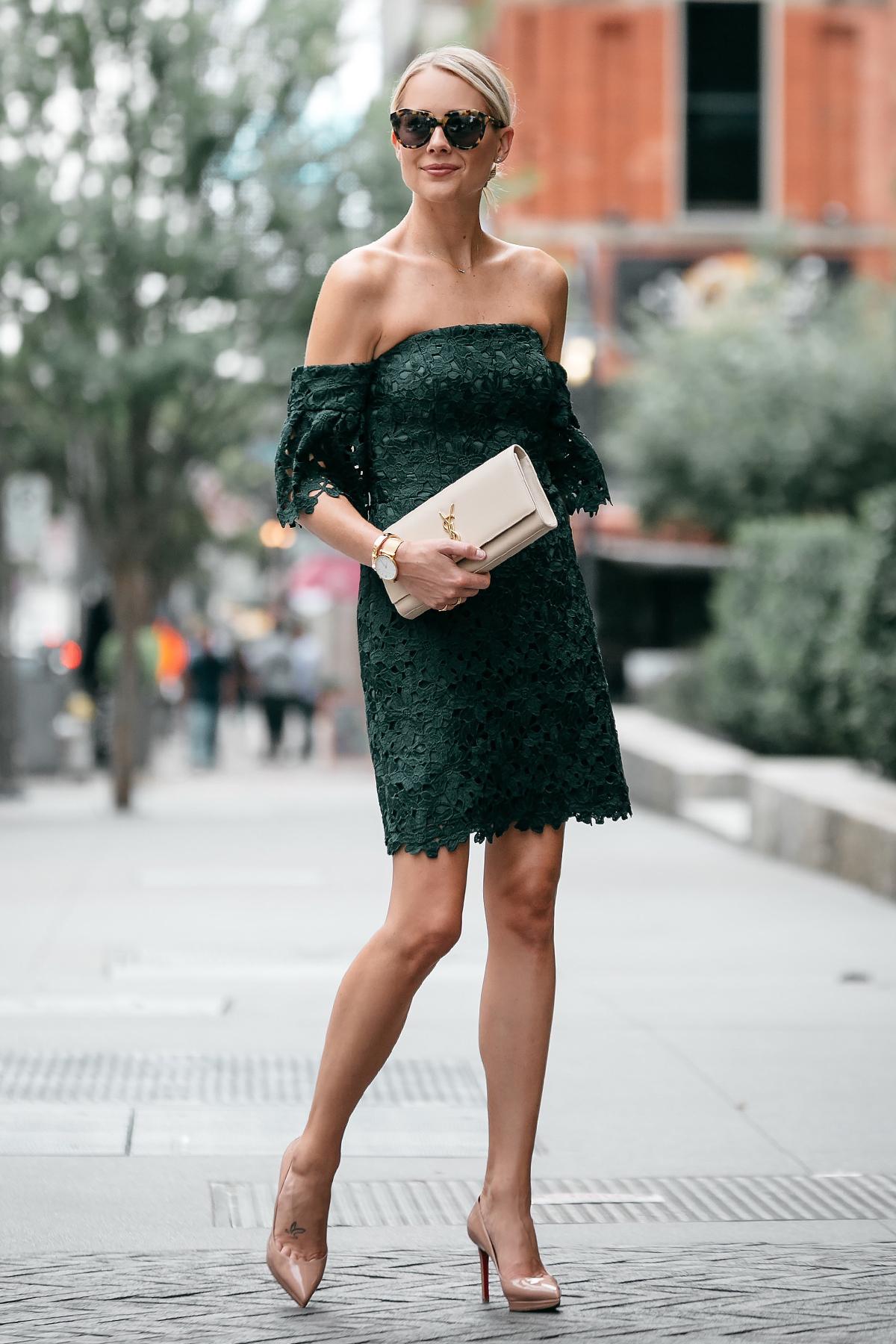 chinh phục dresscode xanh lá - thời trang cưới