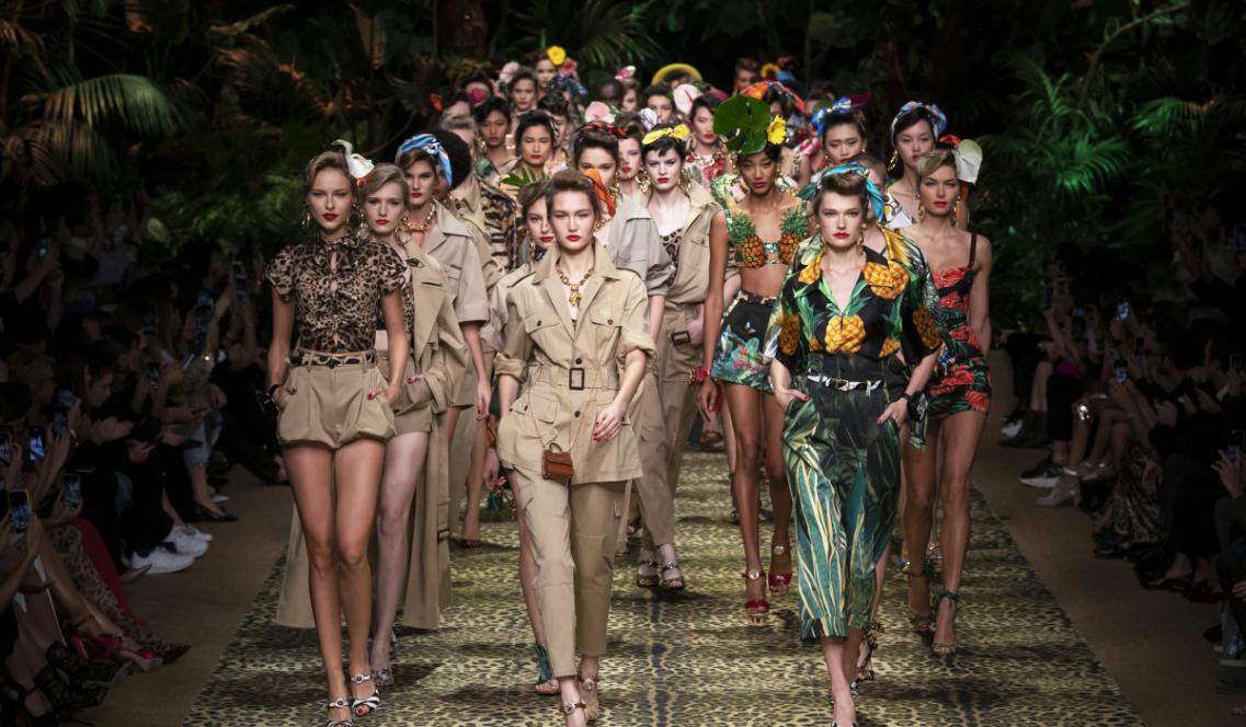 Dolce & Gabbana bst xuân hè 2020 kết show