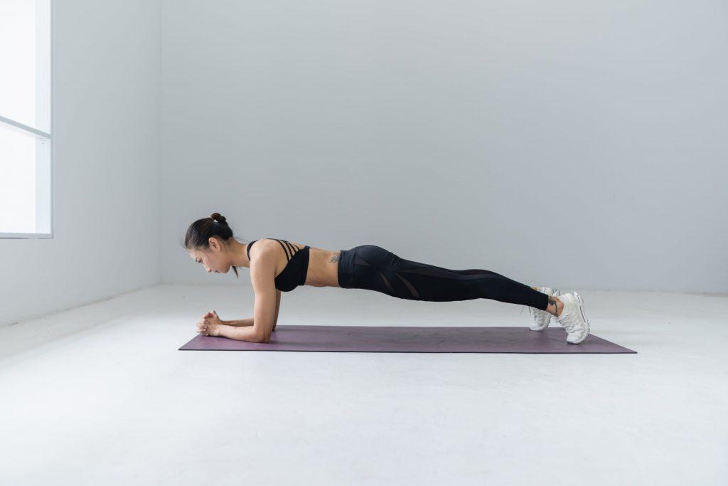 Tập thể dục bằng chính sức nặng cơ thể giúp đốt cháy calories một cách hiệu quả.