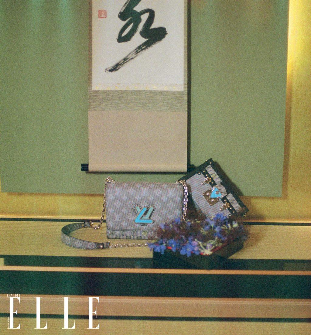 bộ ảnh túi xách Louis Vuitton