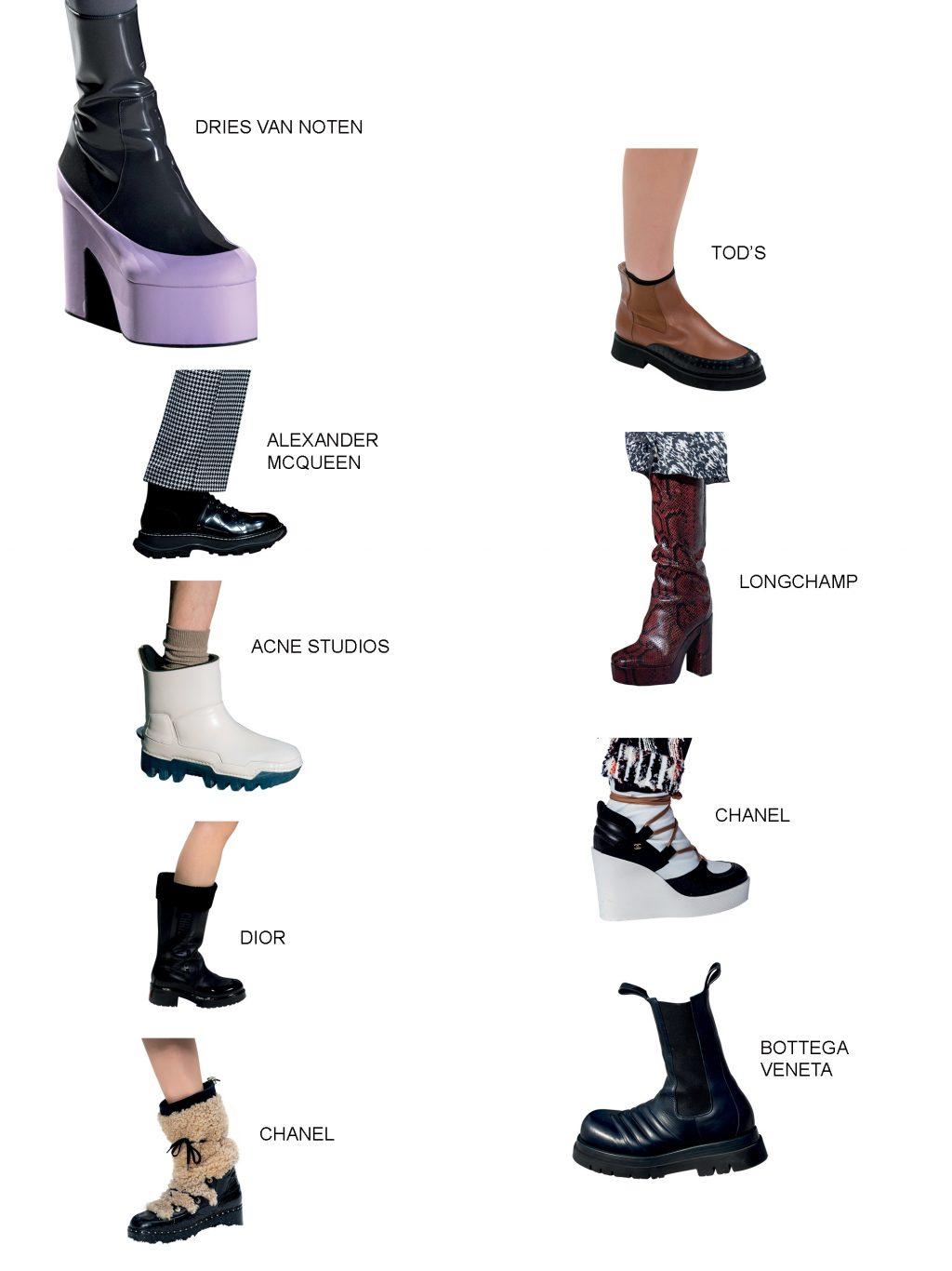 xu hướng phụ kiện statments boots