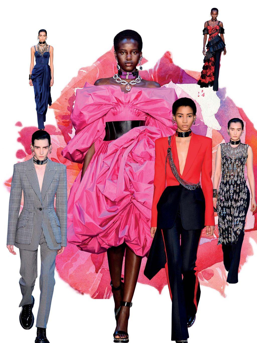 bst thời trang mùa thu - đông 2019 của alexander mcqueen