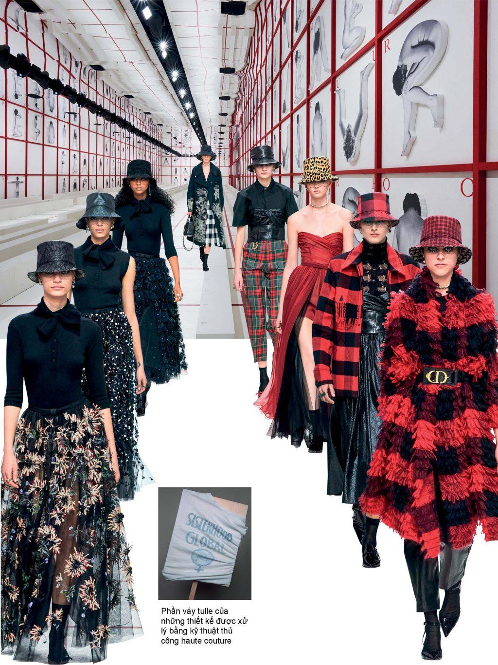 sàn diễn thời trang thu đông 2019 dior