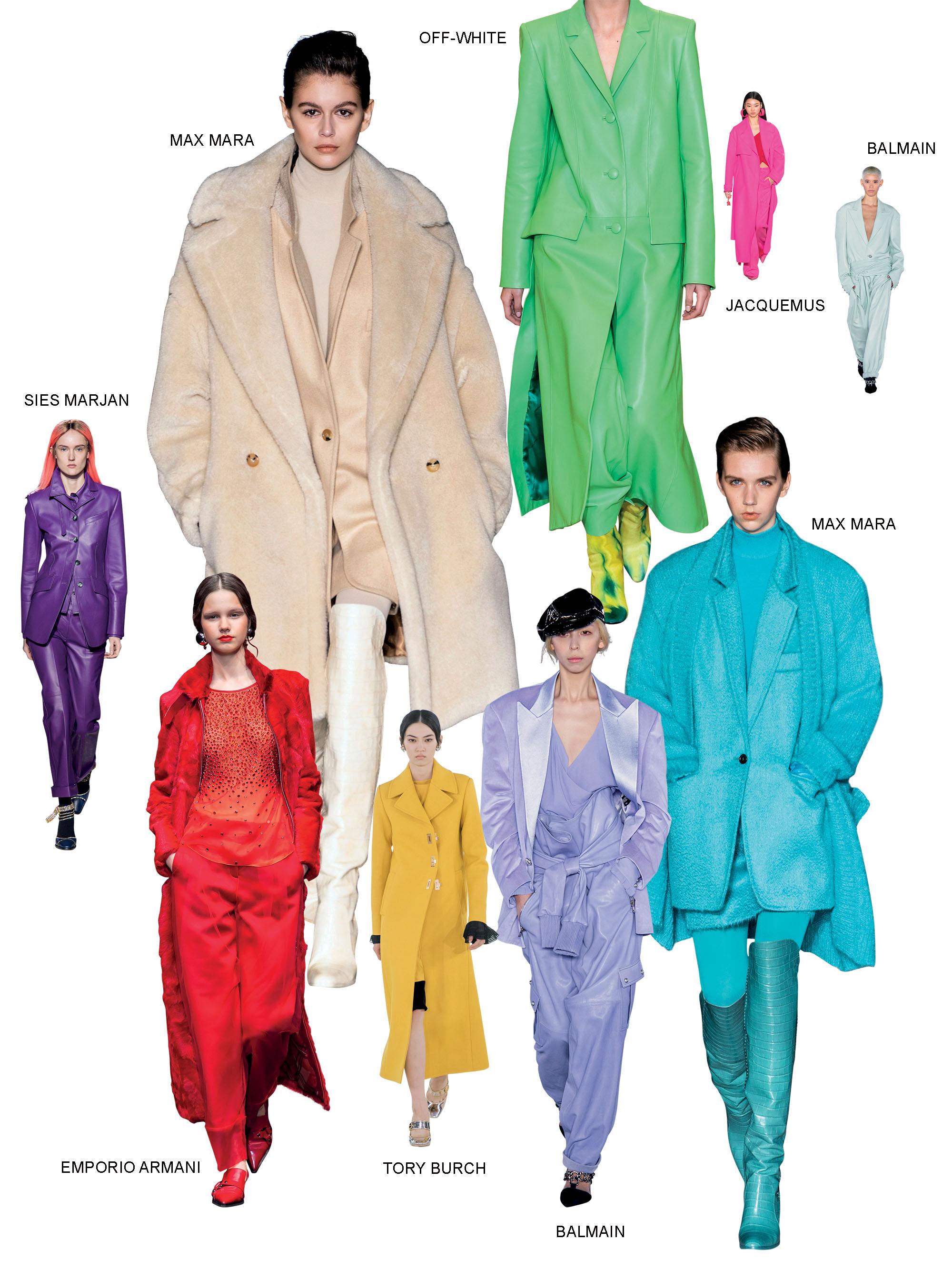 xu hướng thời trang nổi bật mùa thu đông 2019 2
