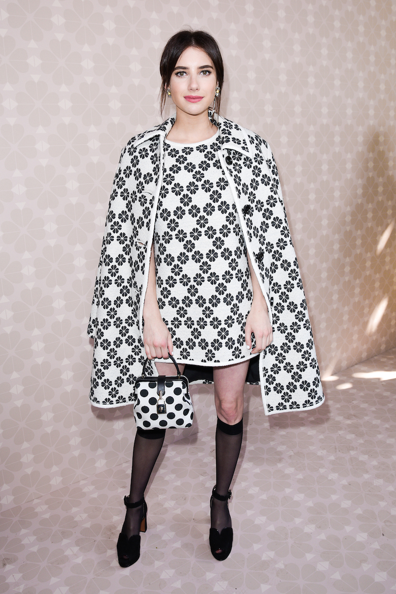 Emma Roberts dự show Kate Spade tại tuần lễ thời trang