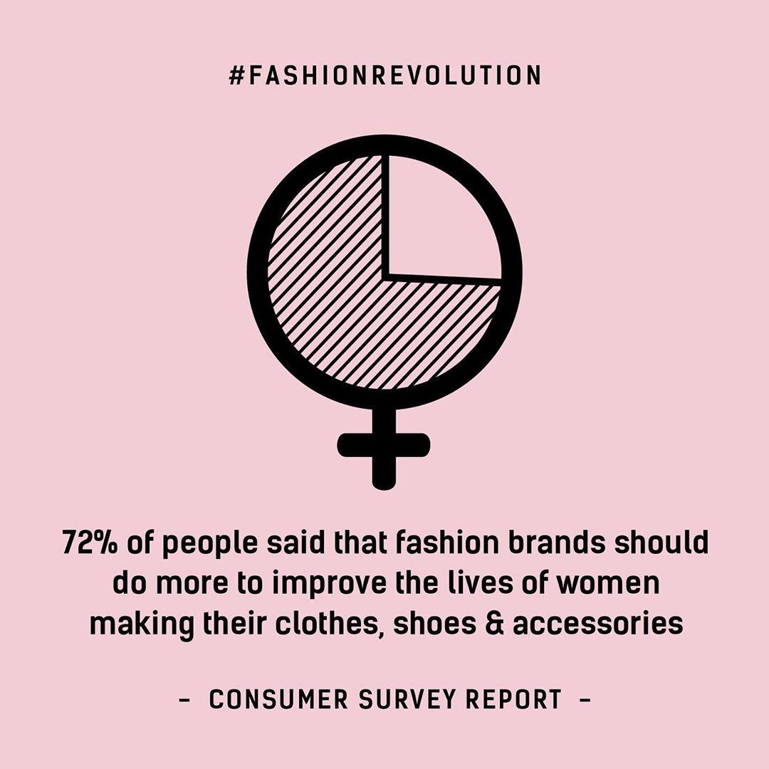 fashion revolution instagram - tuan le thoi trang milan xuan he 2020