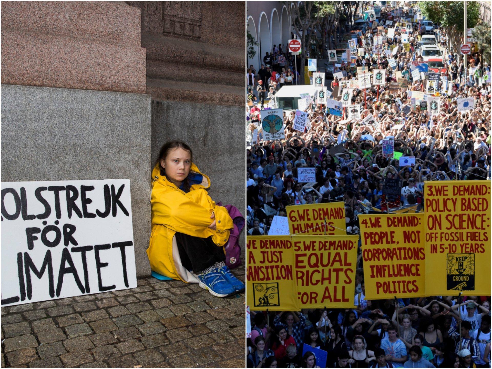 biểu tình Bải khóa vì khí hậu