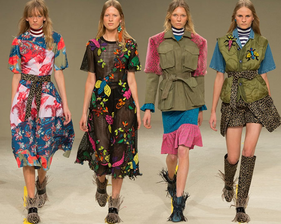 Nhãn hiệu House of Holland lần đầu diễn công khai tại Tuần lễ thời trang London