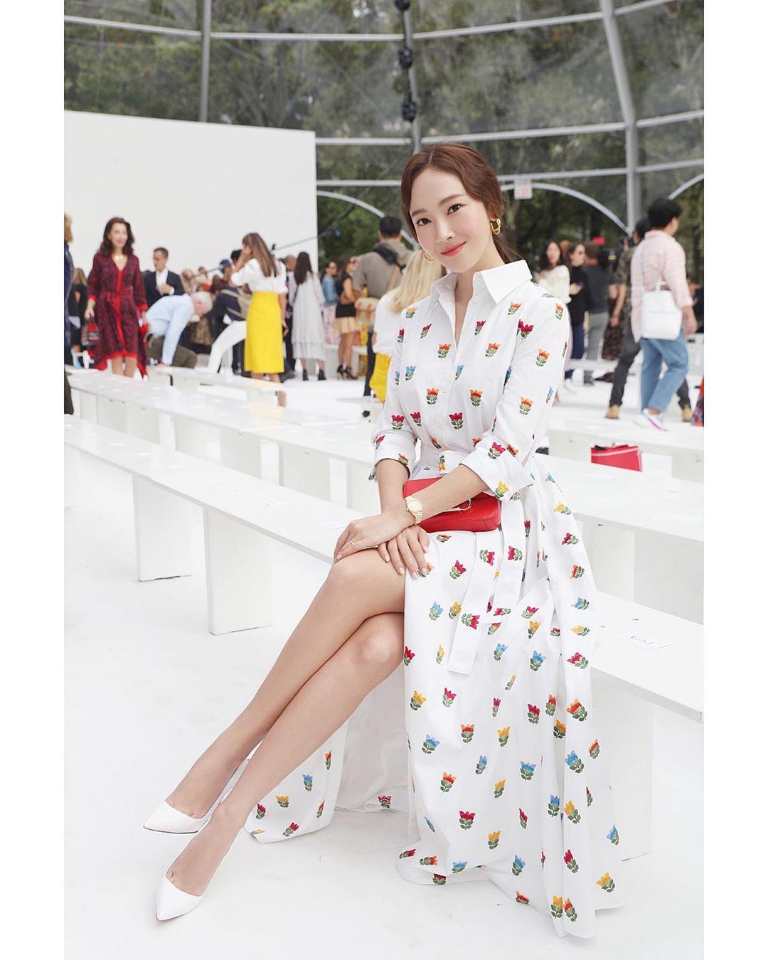 Jessica Jung tham dự Tuần lễ thời trang New York Xuân Hè 2020