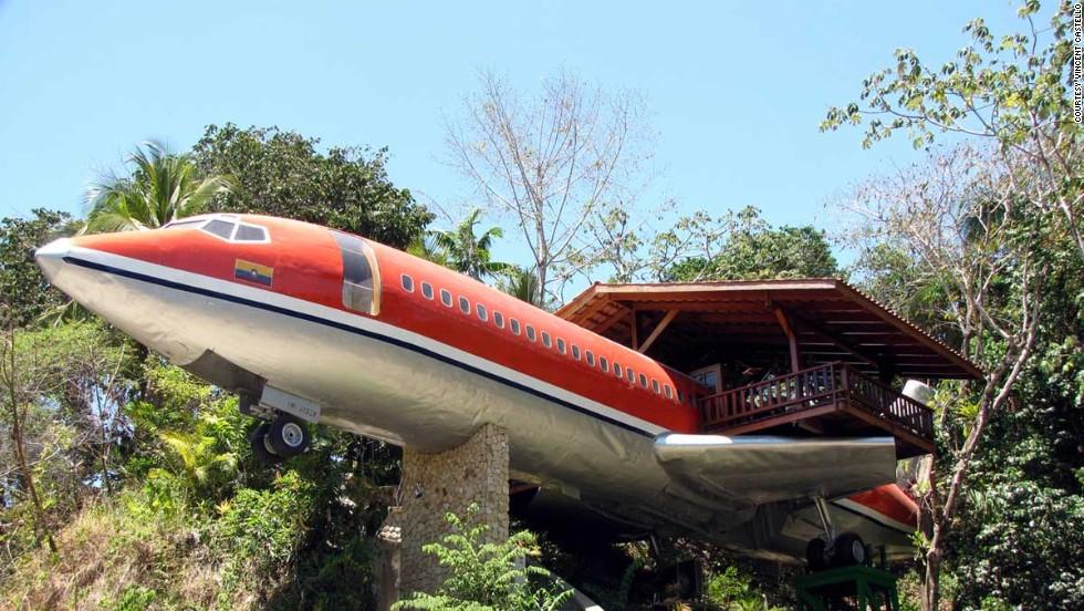 khách sạn máy bay