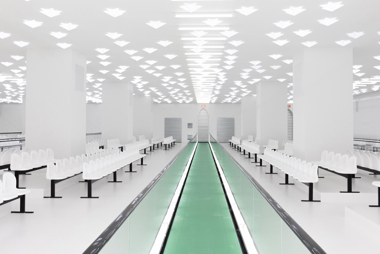 không gian trình diễn bộ sưu tập Gucci Xuân Hè 2020