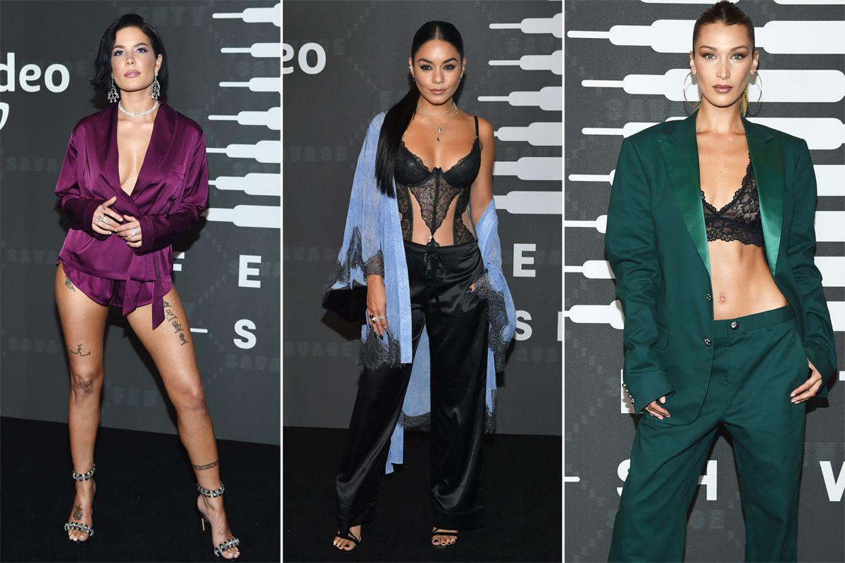 Các ngôi sao đến tham dự show thời trang của Rihanna x Fenty 2020
