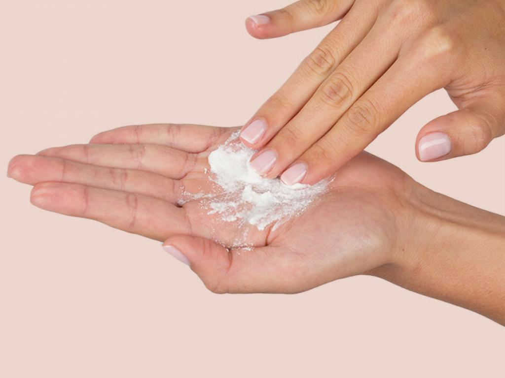 rửa mặt dạng bột