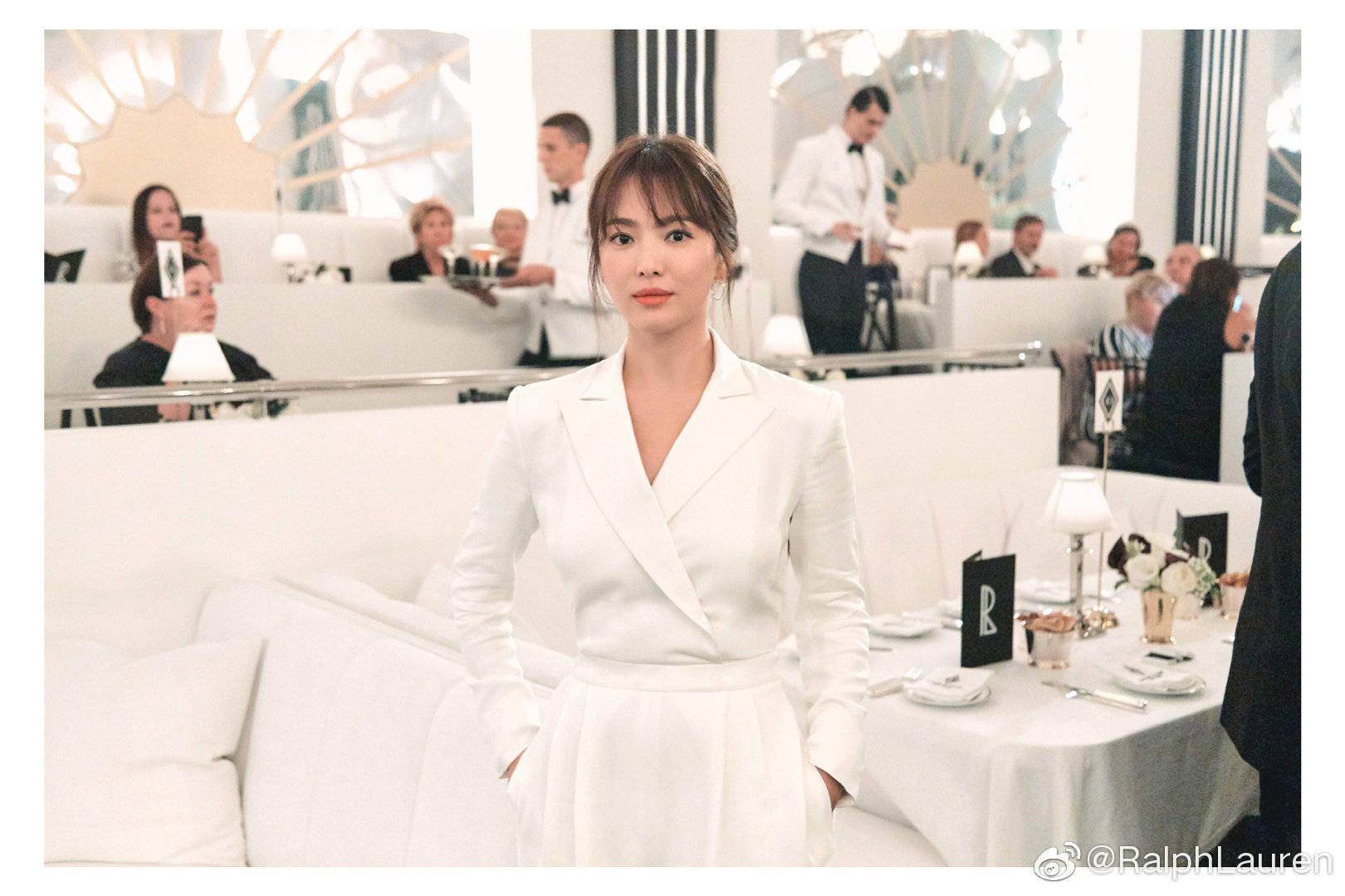 song hye kyo tại sự kiện của Ralph Lauren