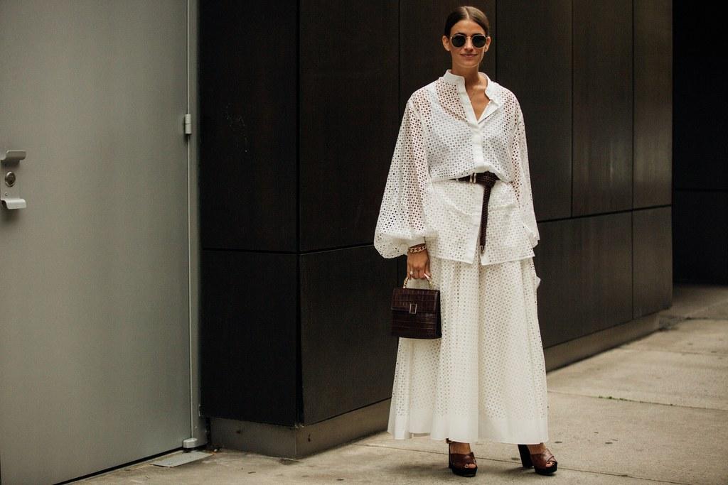 Street style tại tuần lễ thời trang New York Xuân - Hè 2020.