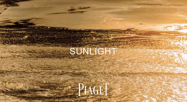 Sự kiện Piaget Sunlight