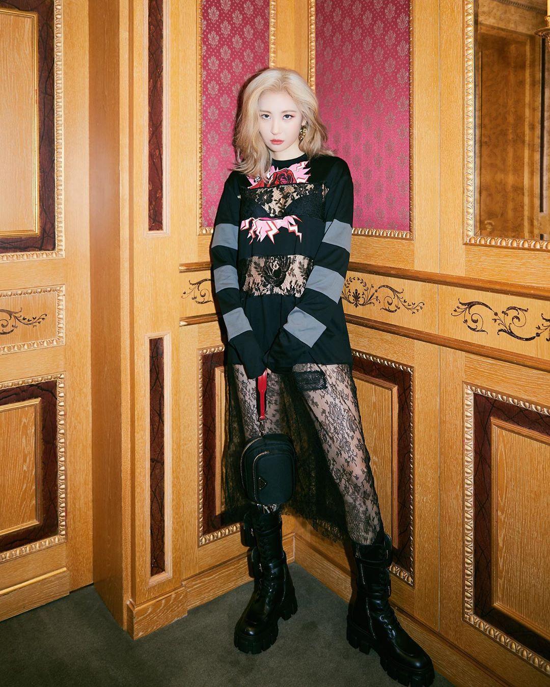 Sunmi xuất hiện trong show Gucci tại tuần lễ thời trang Milan Xuân - Hè 2020