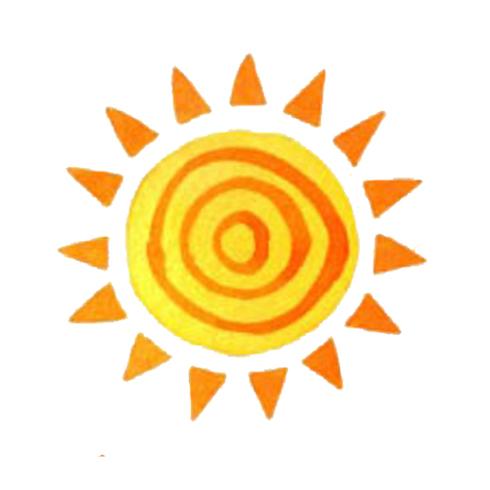 biểu tượng mặt trời 8