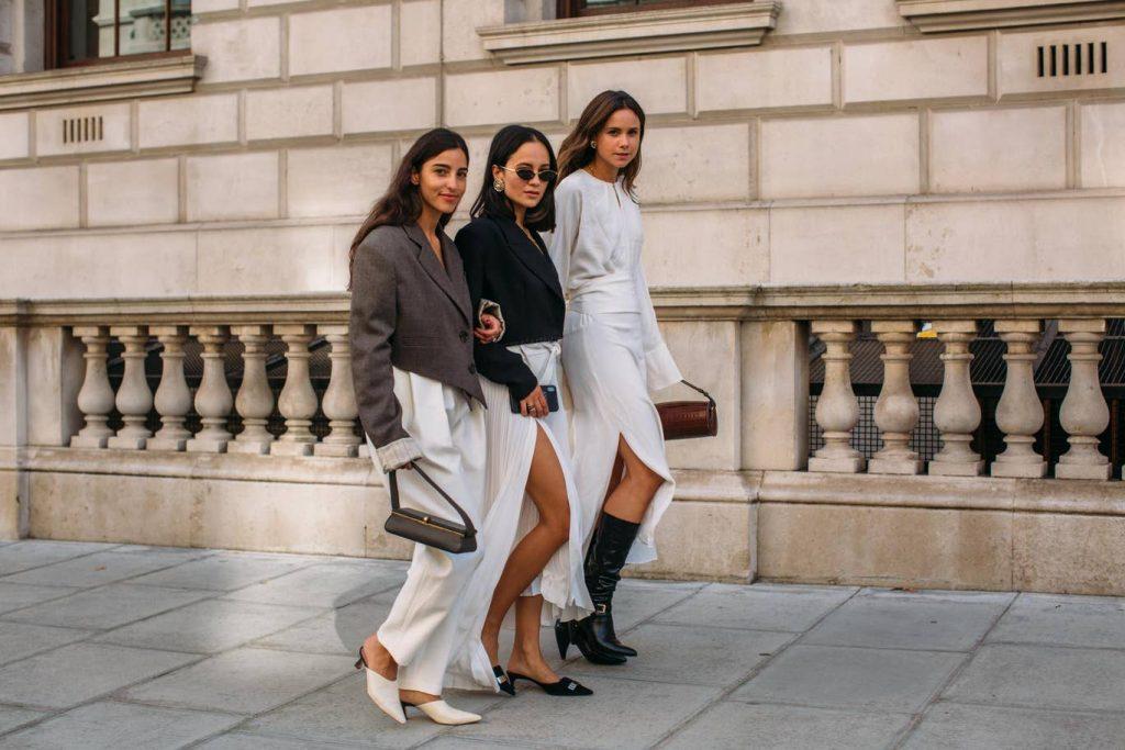 xu hướng thời trang đường phố tại Tuần lễ thời trang London Xuân - Hè 2020