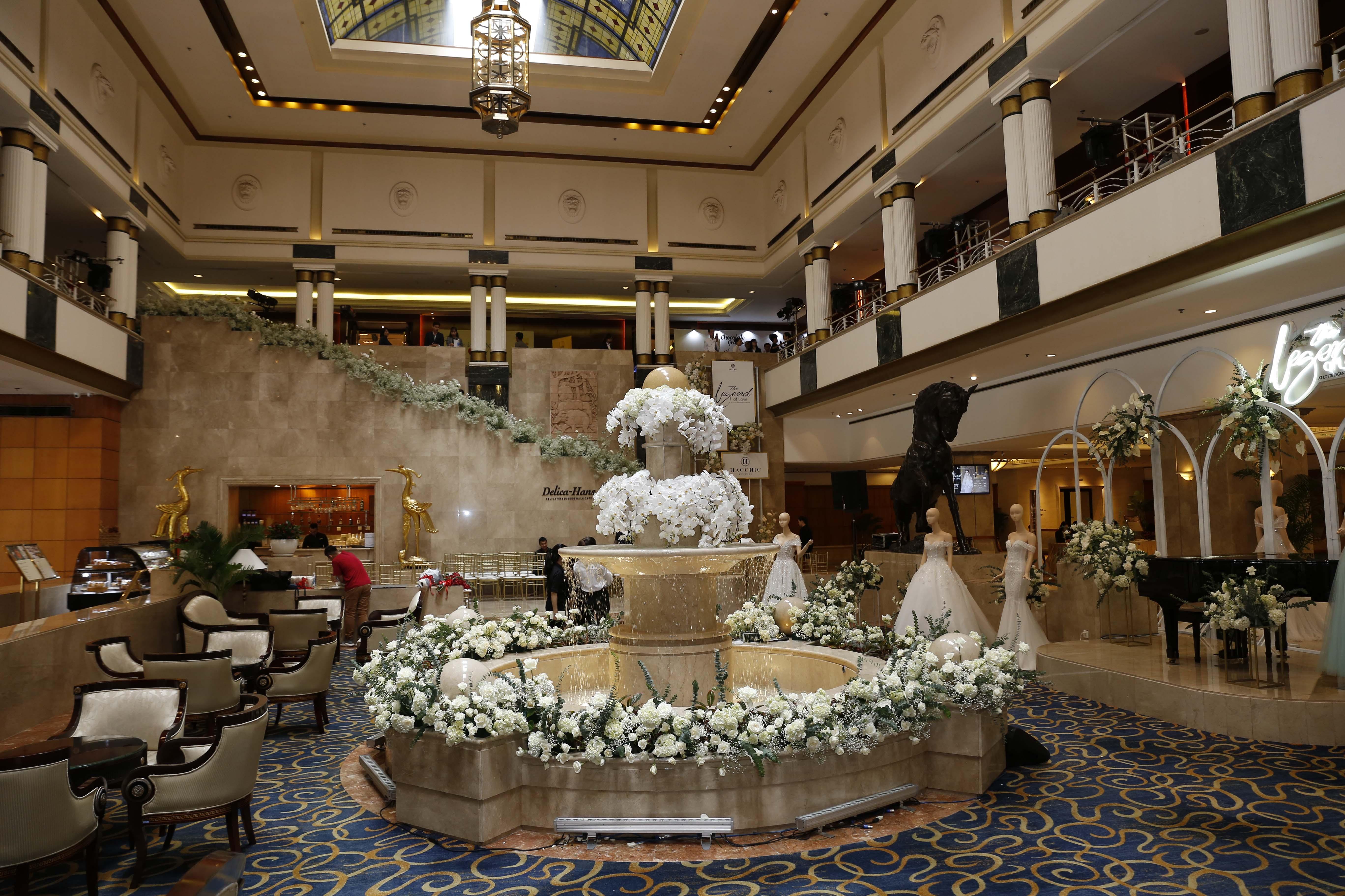 triển lãm cưới the legend of love khách sạn lotte saigon 2