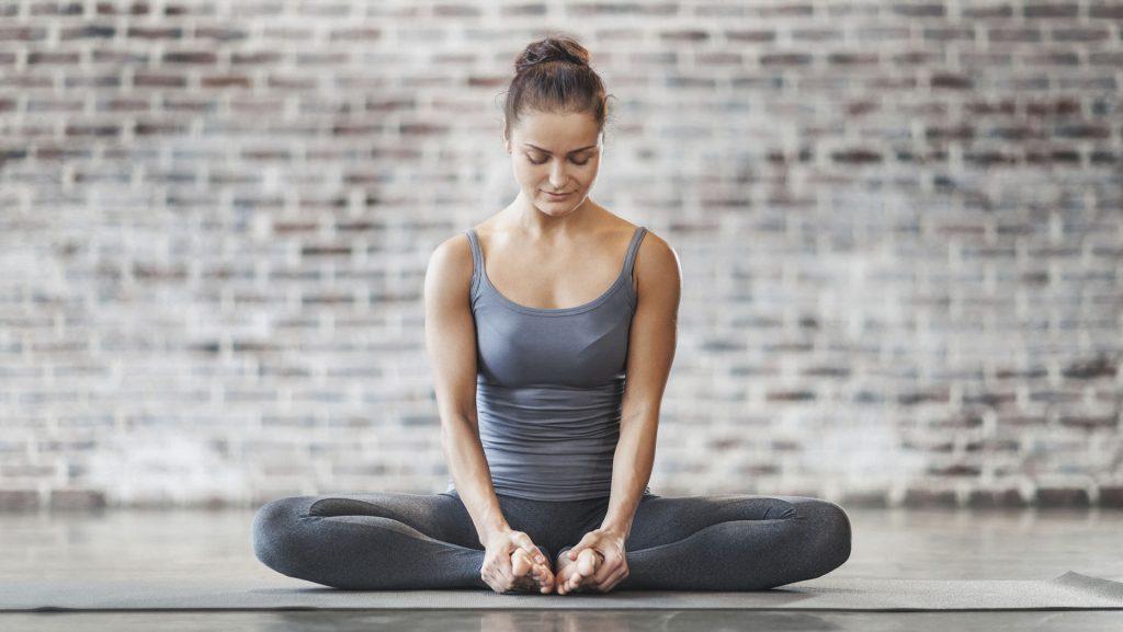 tư thế góc cố định tập thể dục