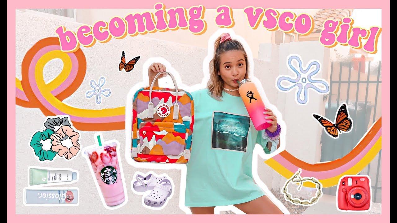 những món đồ cơ bản của VSCO girl