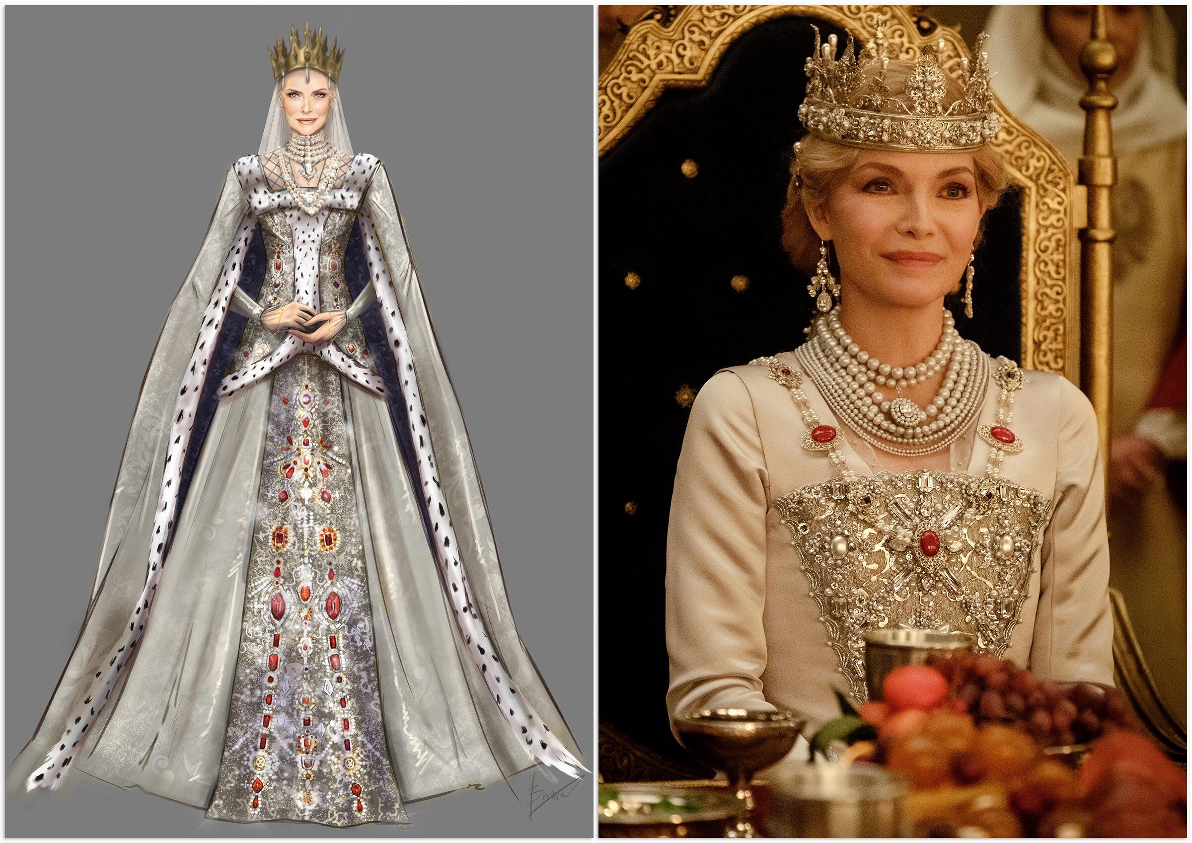 Hoàng hậu Ingrith ở bữa tiệc trong Tiên hắc ám 2