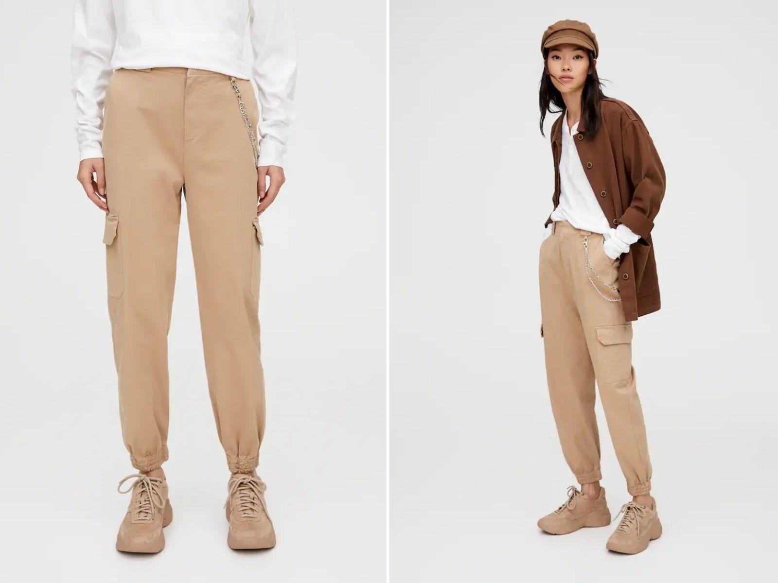 quần cargo - xu hướng thời trang ugly