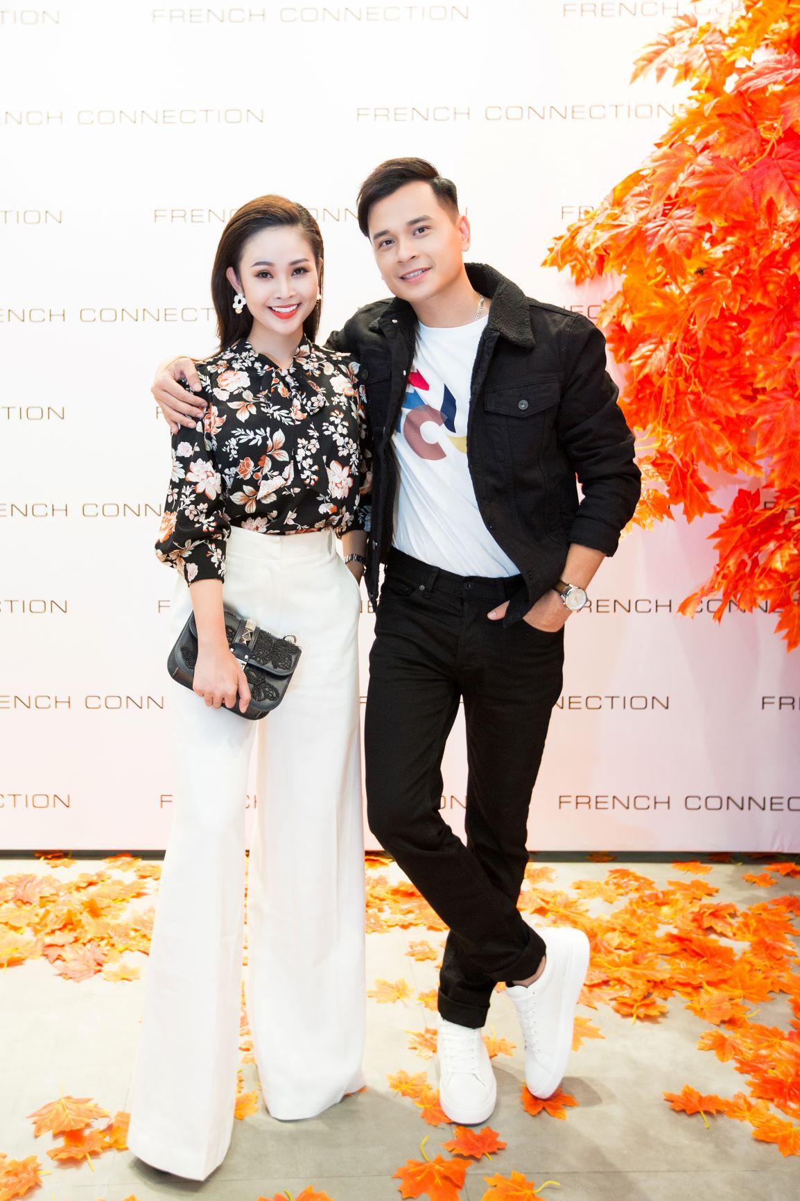 MC Thùy Linh và Danh Tùng tại sự kiện thời trang Thu - Đông của FCUK