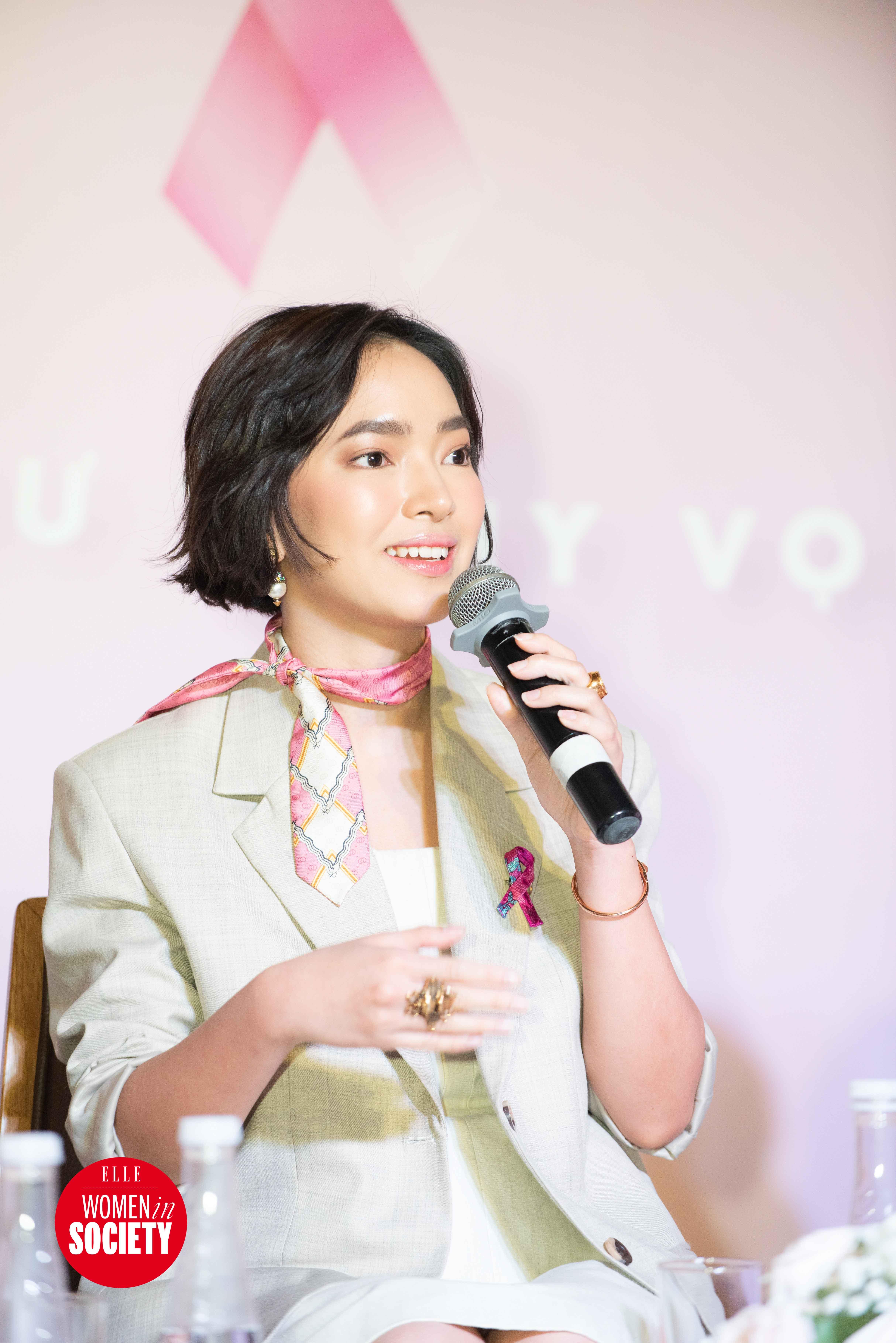 Châu Bùi chia sẻ về cách mặc đẹp trong elle women in society