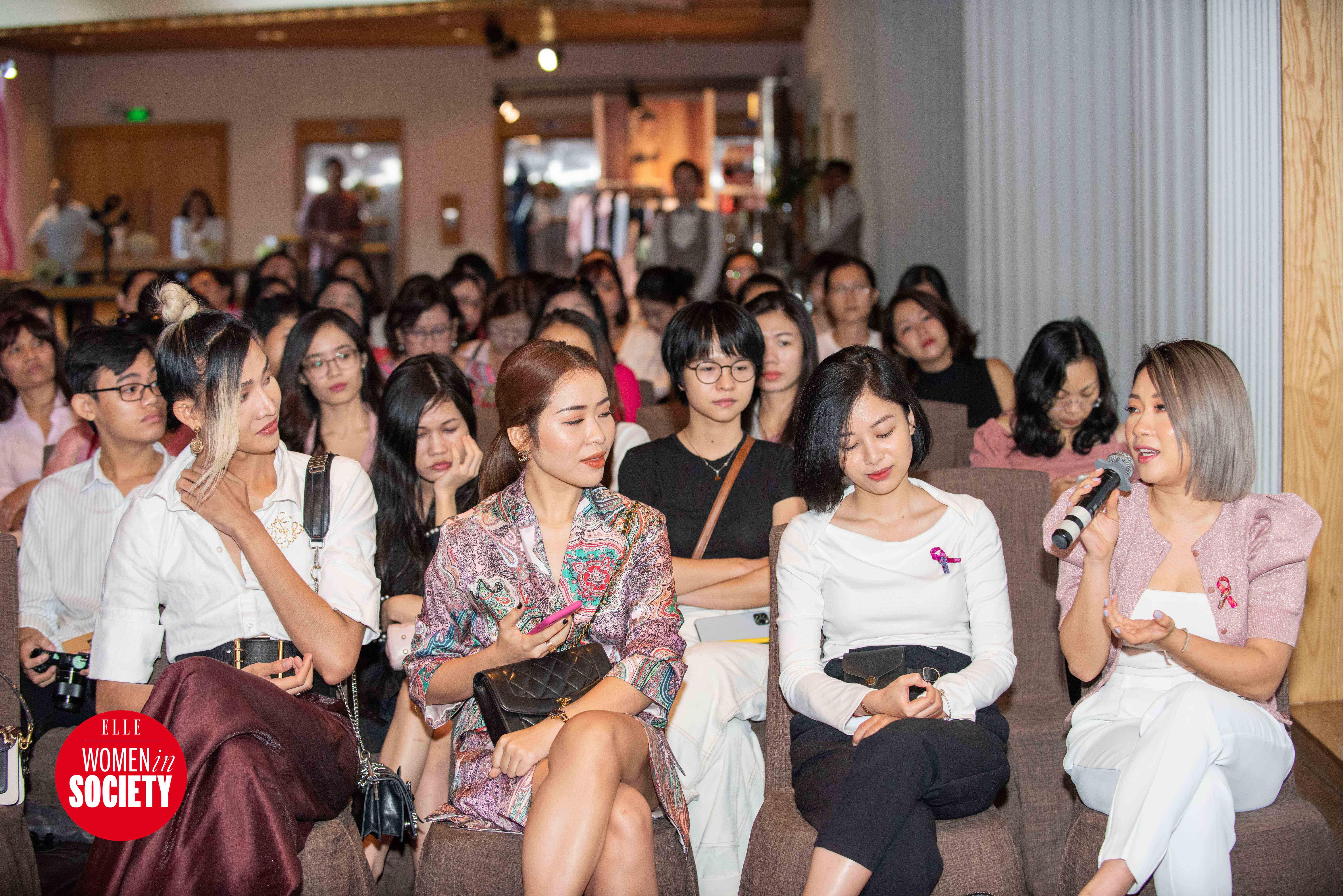 Dạ Miêu chia sẻ trong elle women in society 2019