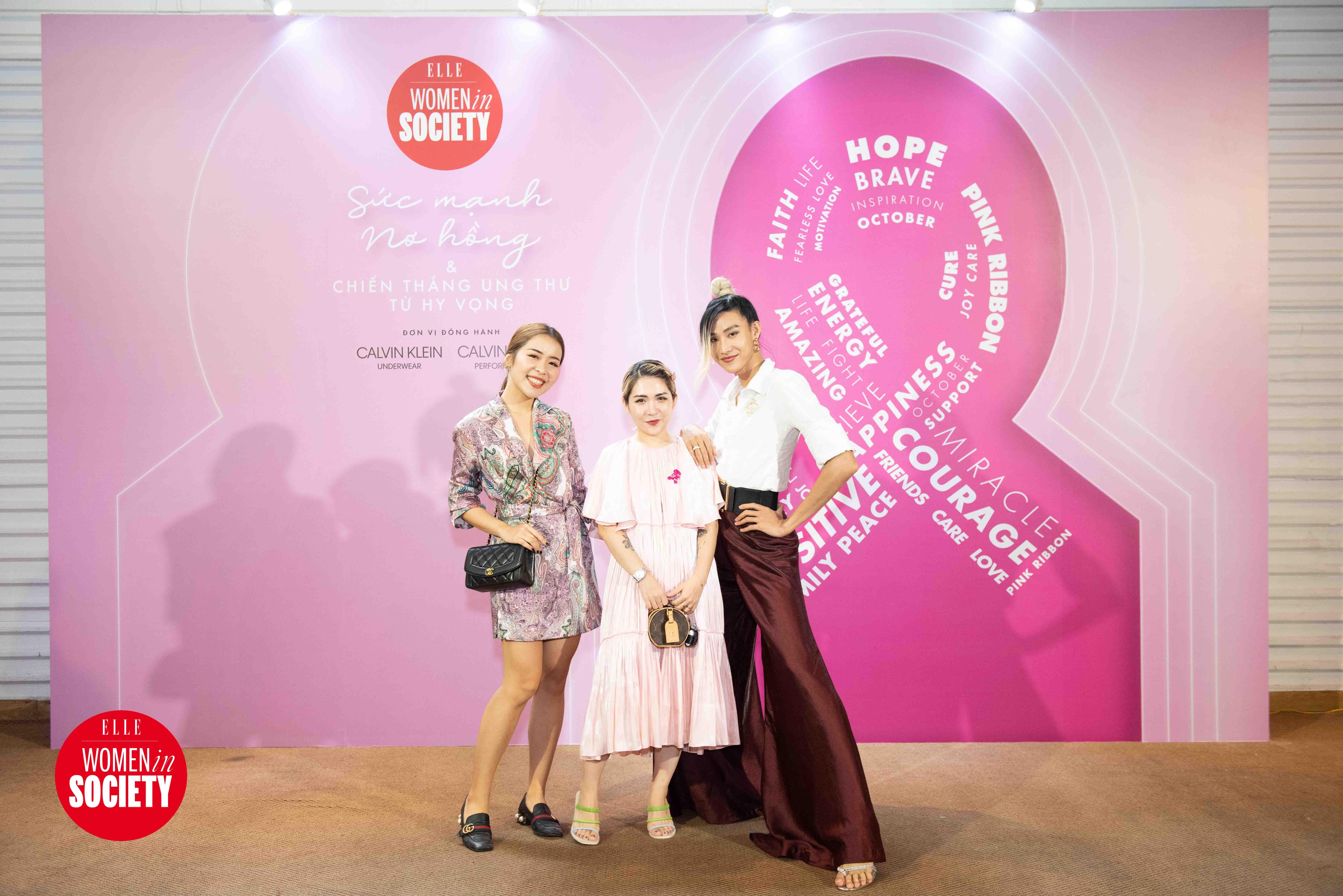 Beauty blogger An Phương, lifestyle blogger Lâm Thúy Nhàn, người mẫu Mid Nguyễn