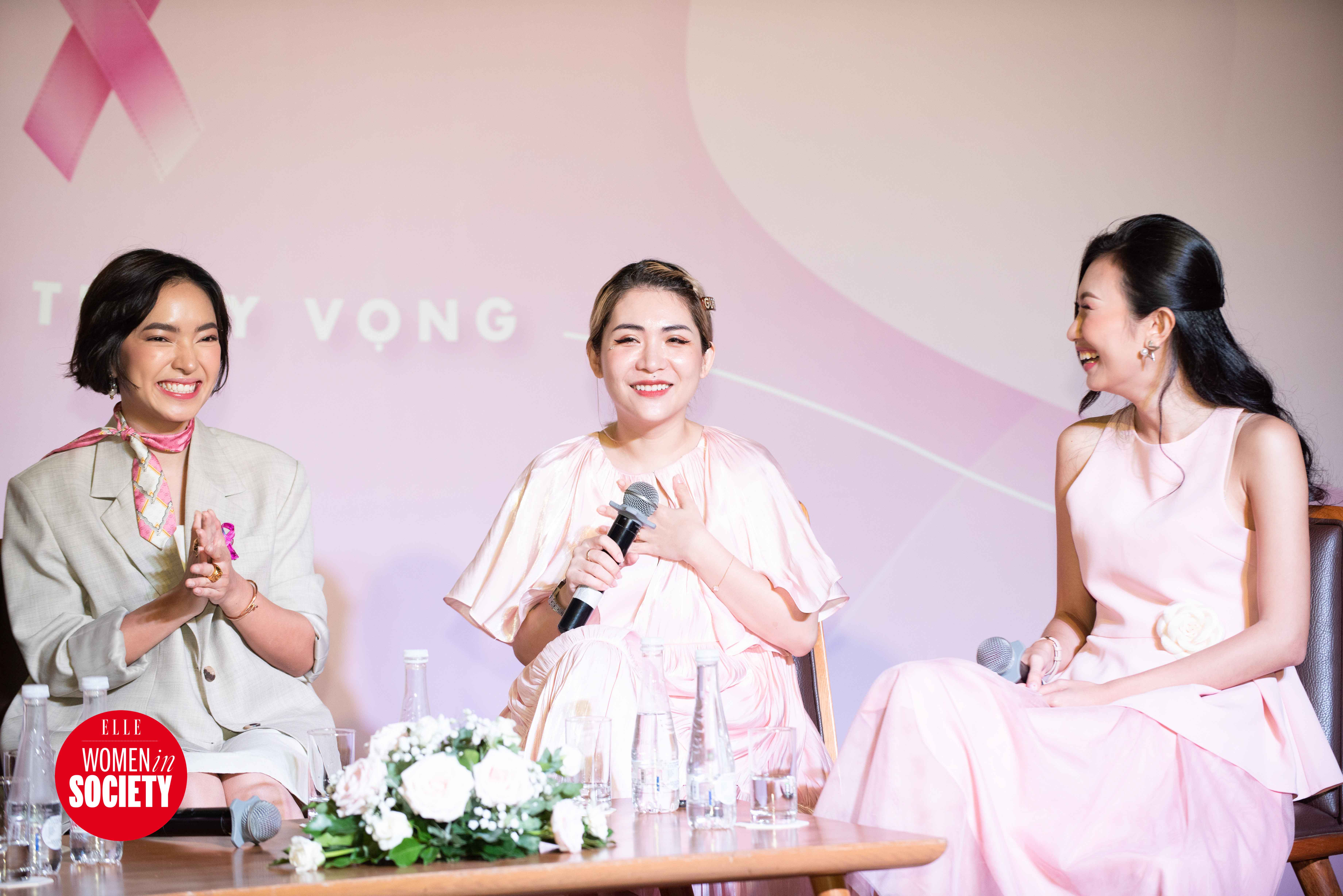 Lâm Thúy Nhàn chia sẻ trongelle women in society
