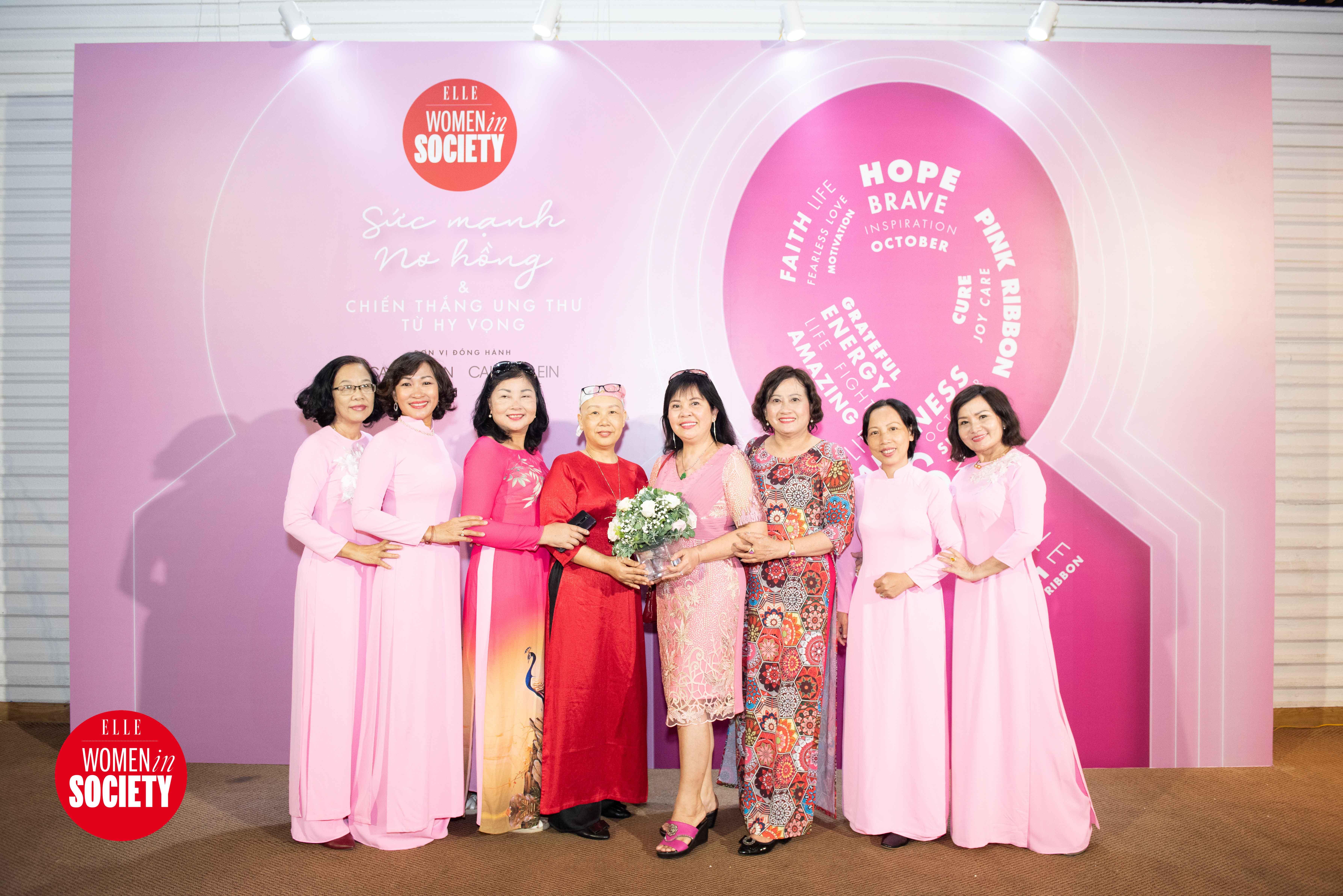 khách tham dự elle women in society 2019