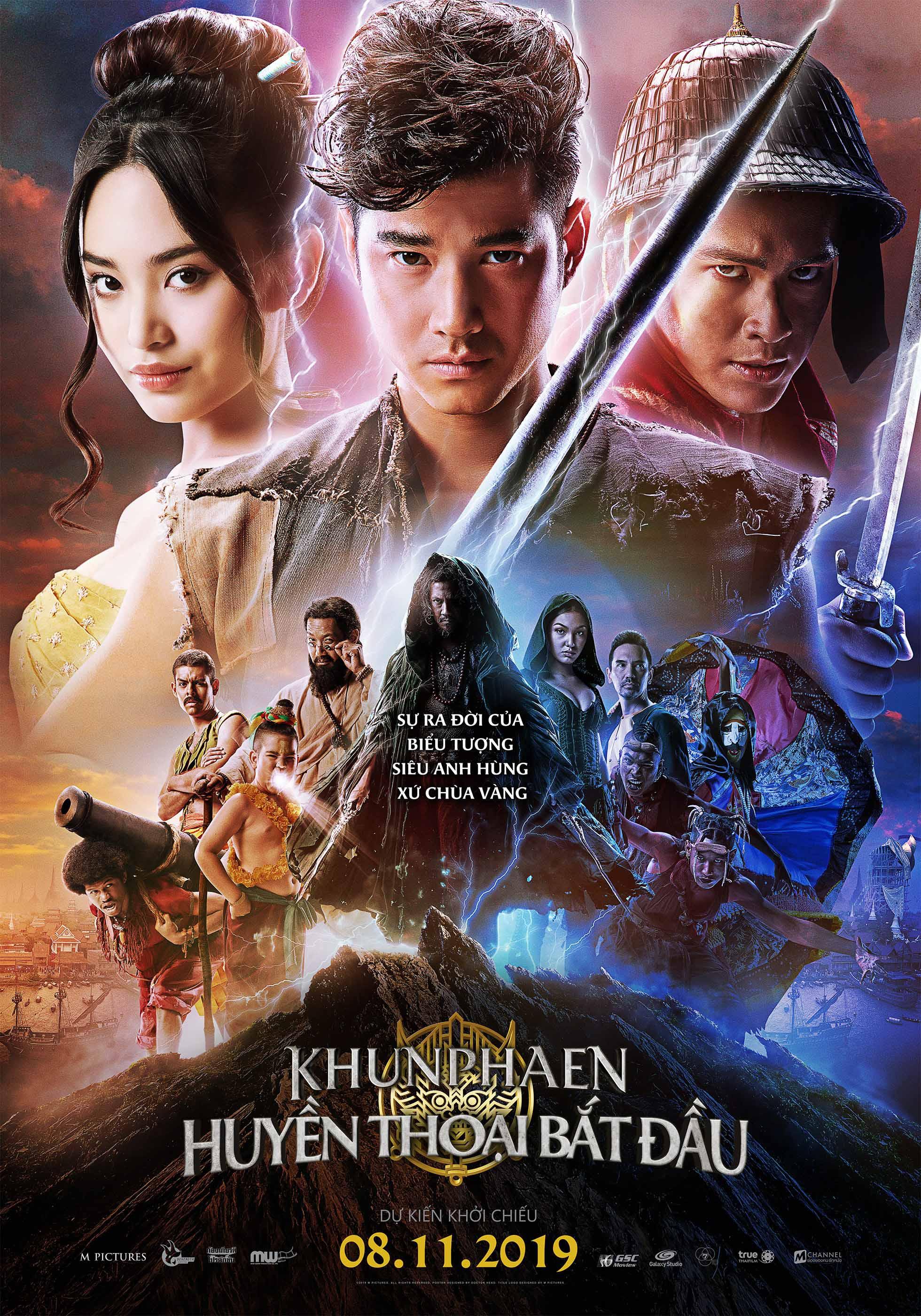 Khun Phaen huyền thoại bắt đầu
