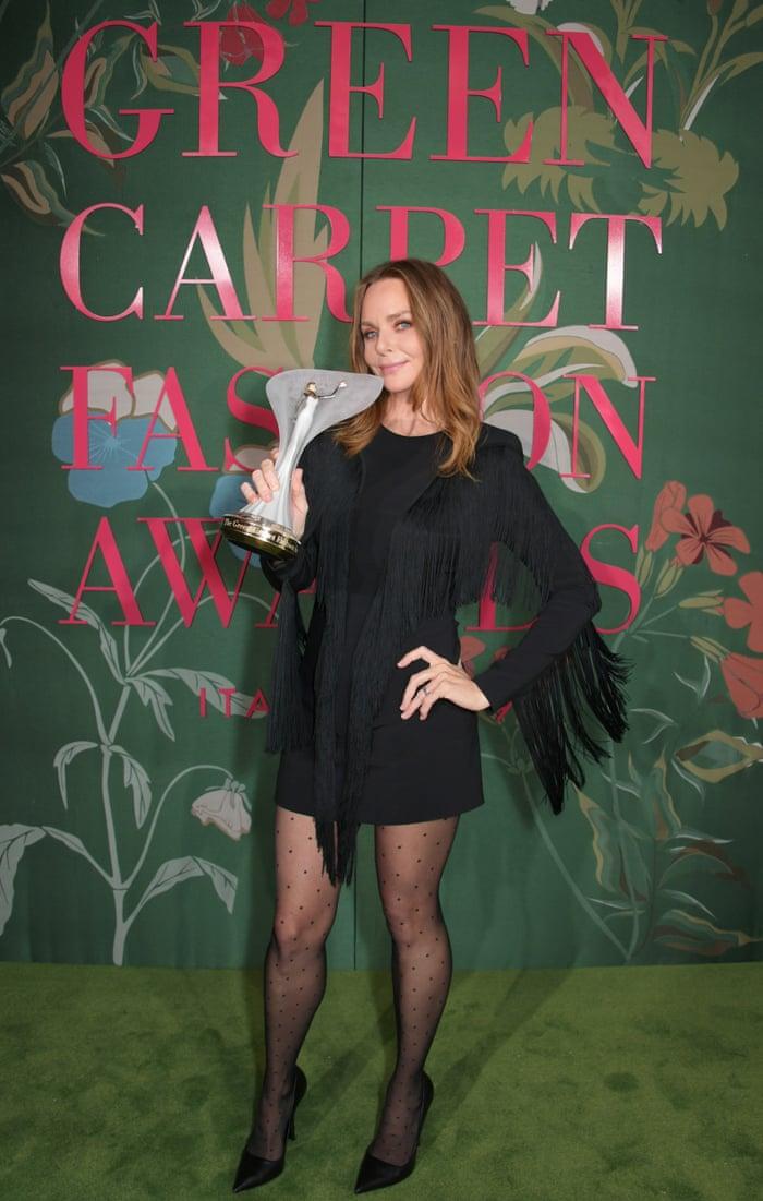 Stella McCartney tại lễ trao giải thời trang Xanh