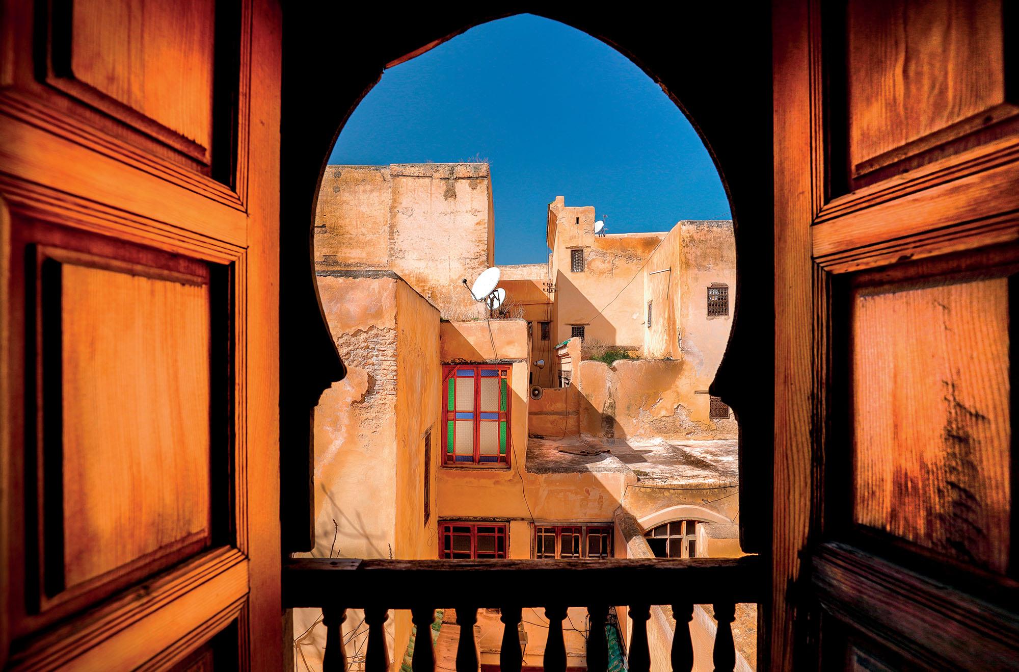 Morocco du lịch căn nhà có kiến trúc Arab