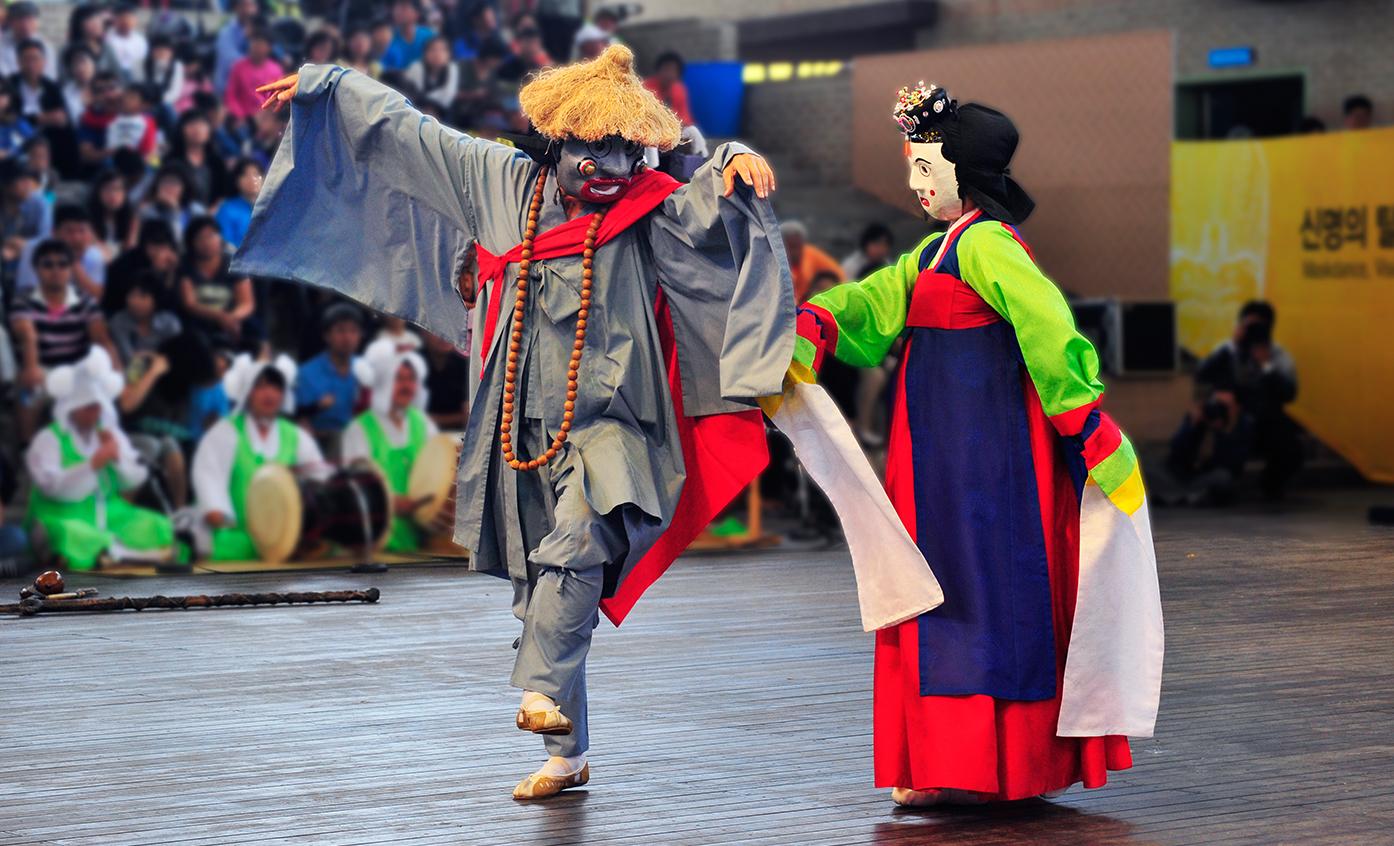 lễ hội mặt nạ quốc tế hàn quốc