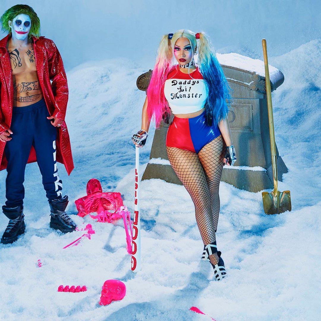 trang phục Halloween - Nicki Minaj Halloween 2019