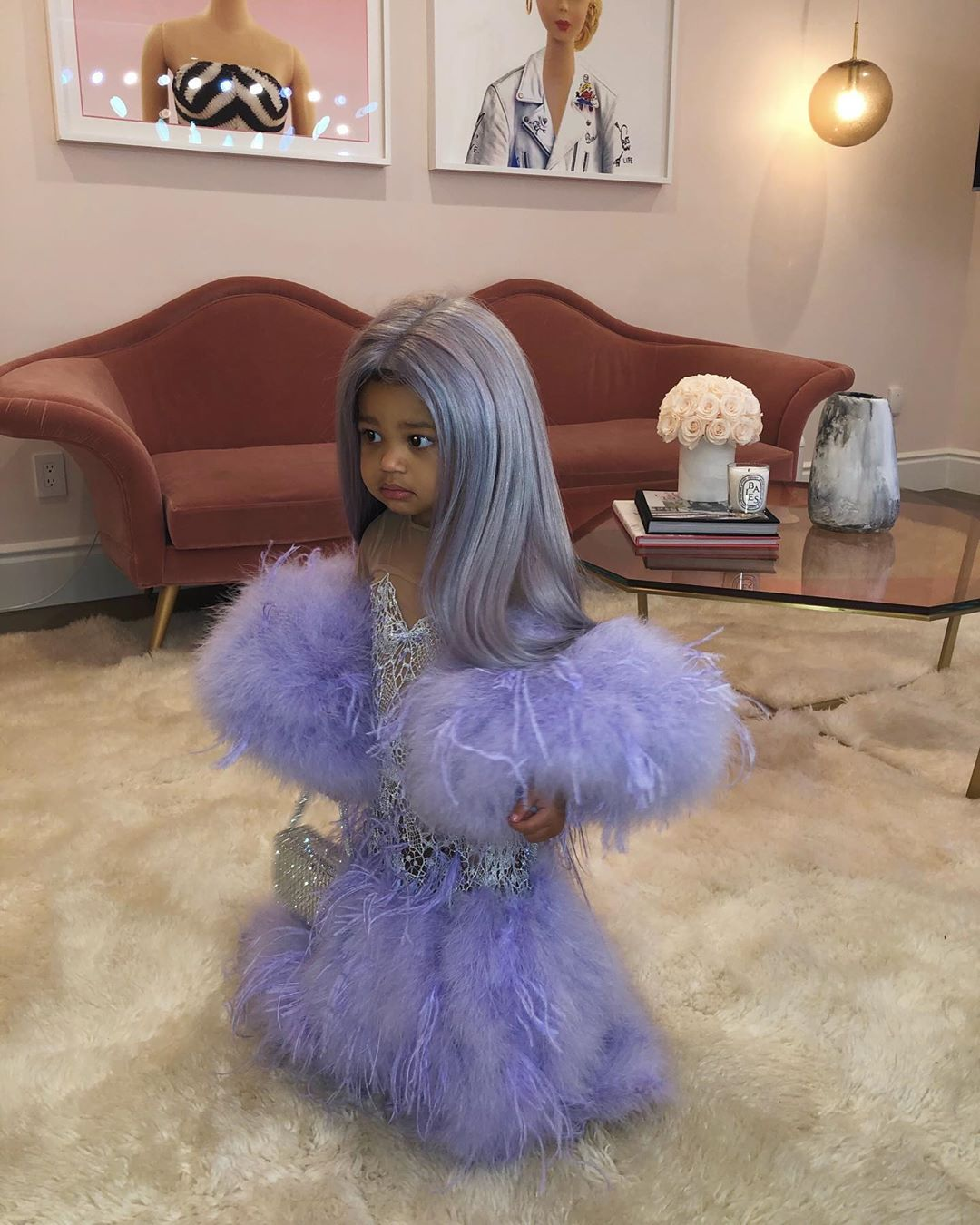 trang phục Halloween - Stormi Halloween 2019