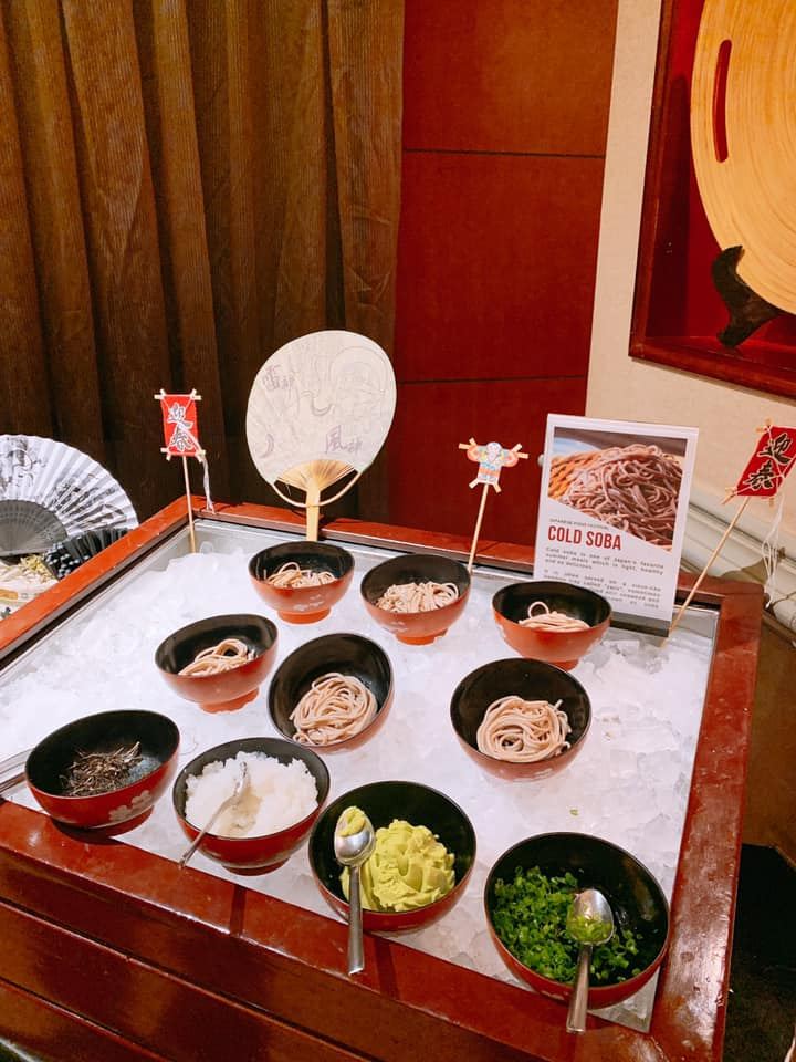 Mì Soba lạnh - một món ăn nổi tiếng của ẩm thực Nhật Bản.